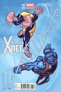 All-New X-Men #3  (Mcguinness Variant)