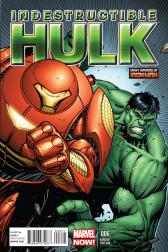 Indestructible Hulk #6  (Keown Iron Man Many Armors Variant)