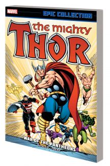 Thor Epic Collection: War of the Pantheons (Trade Paperback)