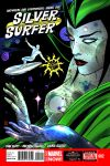 Silver Surfer (2014) #2 cover by Mike & Laura Allred