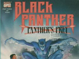 Black Panther: Panther's Prey #3 cover by Dwayne Turner