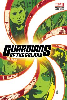 Guardians of the Galaxy #25  (Sorrentino Variant)
