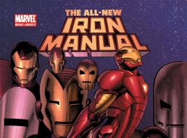 The All-New Iron Manual (2008) One-shot Cover
