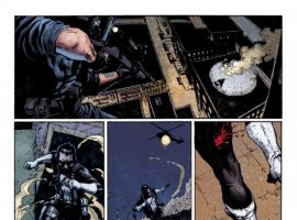 PUNISHER #3 preview art by Jerome Opena