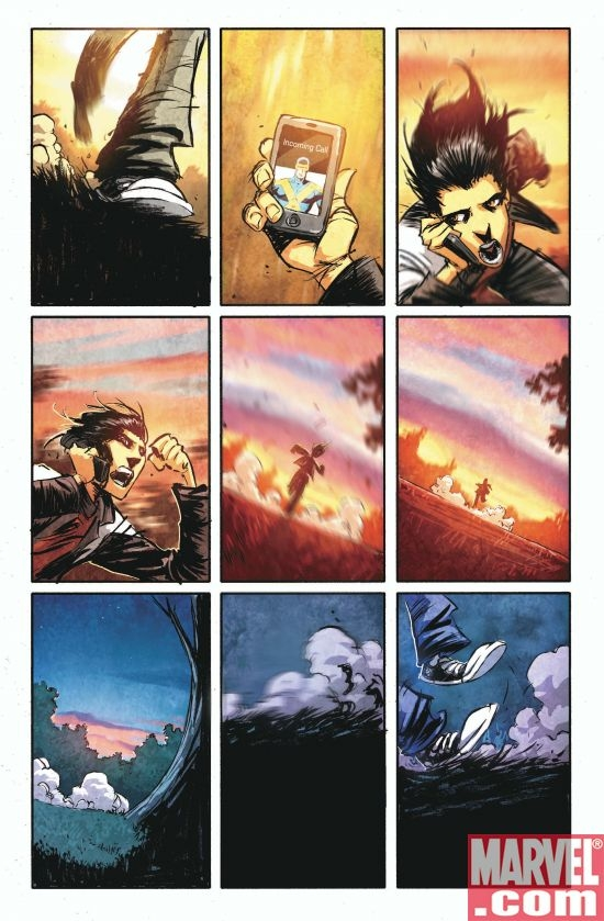 X-MEN: DIVIDED WE STAND BOOK 1 Interior Art