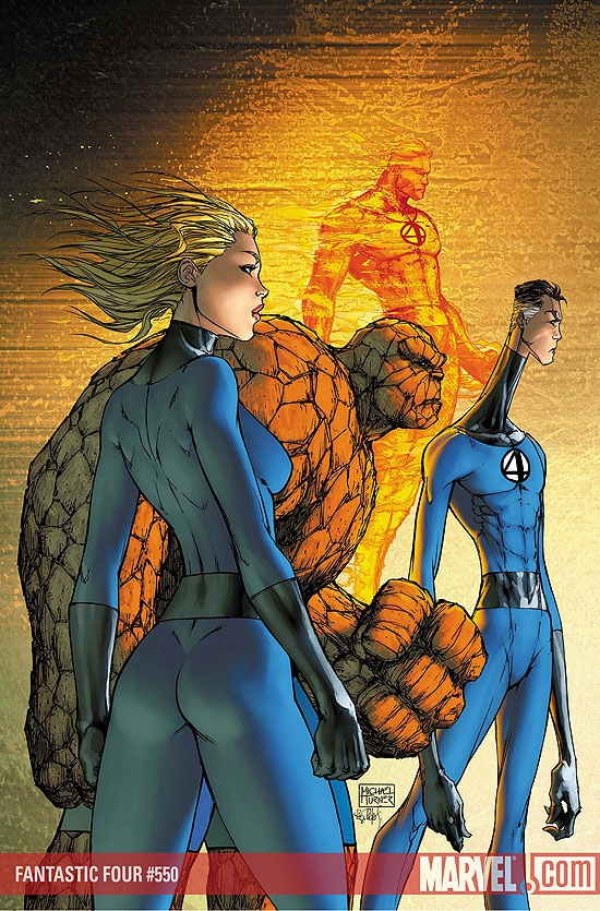 FANTASTIC FOUR #550
