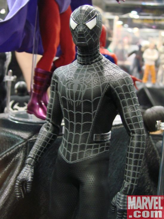 Medicom Spider-Man 3 Real Action Hero Spider-Man Black Costume