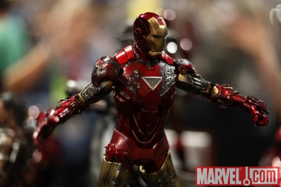 Iron Man 2 statue from Sideshow Collectibles