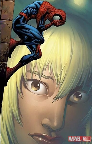 Ultimate Spider-Man &amp; Gwen Stacy by Mark Bagley