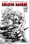 Invincible Iron Man (2008) #508 (Sketch Variant)