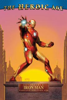 Invincible Iron Man #26  (HEROIC AGE VARIANT)