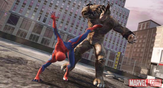 Screenshot from The Amazing Spider-Man video game | Apps | Marvel.