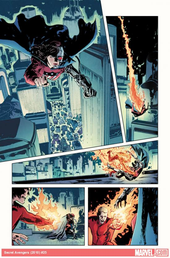 Secret Avengers #25 preview art