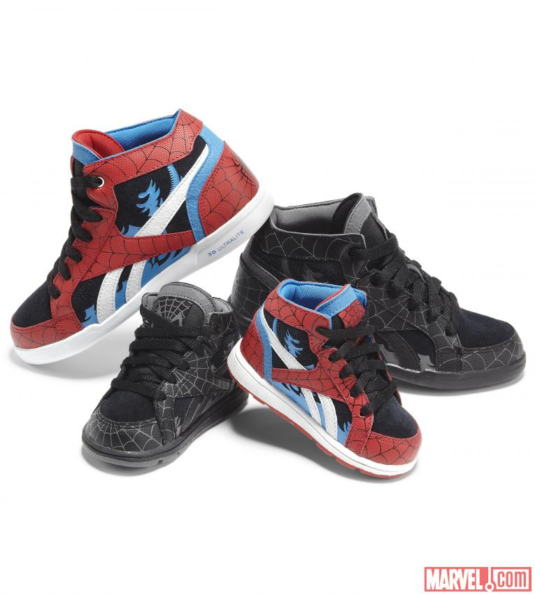 Spider-Man Sneaker Designs from Reebok