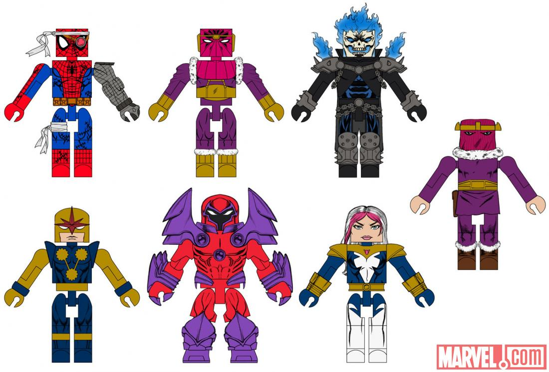 Marvel Minimates Series 50 Fan Poll Results