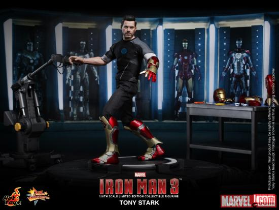 Iron Man 3 Tony Stark Figure from Hot Toys 1