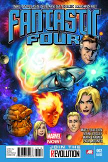Fantastic Four (2012) #2 (2nd Printing Variant)