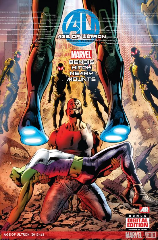 Age of Ultron #3 cover