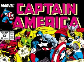 Captain America (1968) #352 Cover