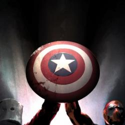 CAPTAIN AMERICA: WHO WON'T WIELD THE SHIELD #1 cover by Gerald Parel