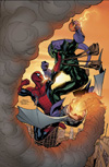 MARVEL KNIGHTS SPIDER-MAN (2006) #12 COVER