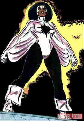 Monica Rambeau as Captain Marvel
