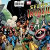SECRET INVASION #1 (2nd printing var.)