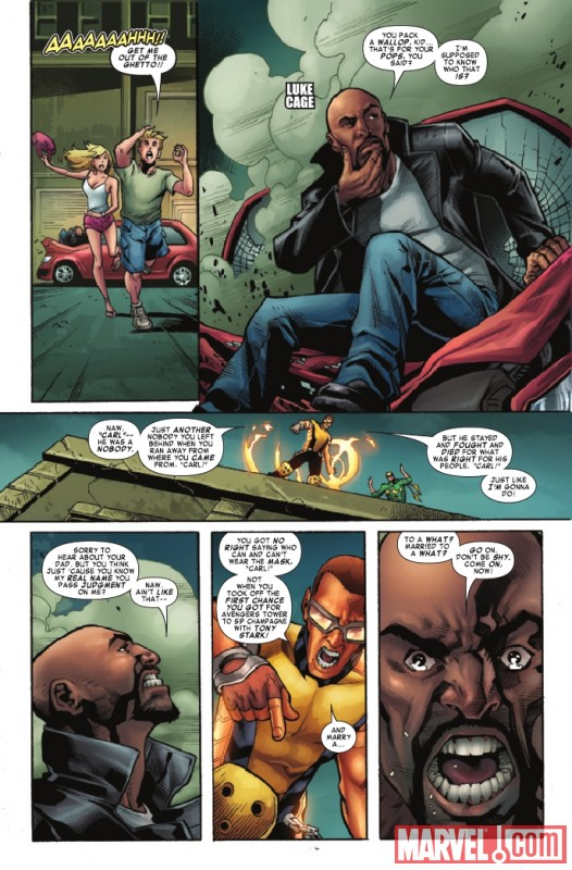 SHADOWLAND: POWER MAN #2 preview page by Mahmud Asrar