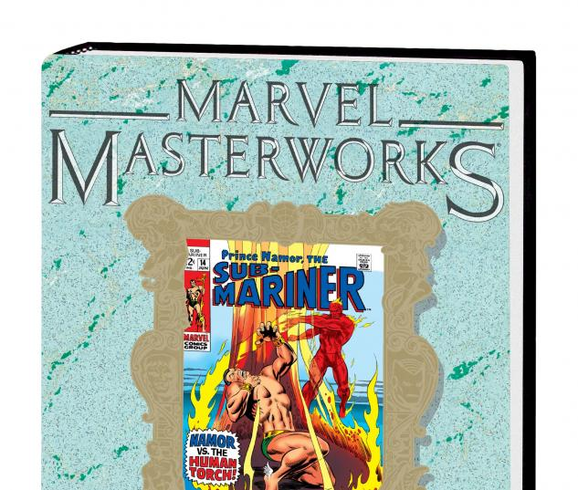 Marvel Masterworks: Sub-Mariner Vol. 4 HC Variant