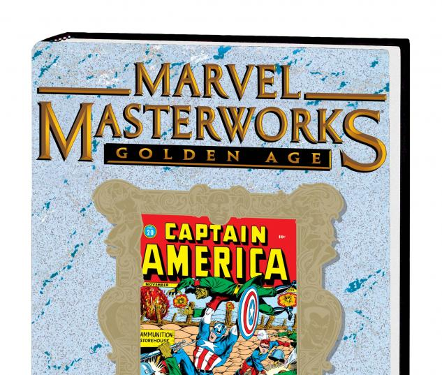 MASTERWORKS: GOLDEN AGE CAPTAIN AMERICA VOL. 5 HC (DM Variant)
