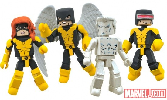 X-Men: First Class Minimates - comic version figures from Diamond Select Toys