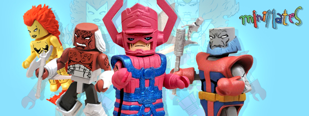 Diamond Select's Heralds of Galactus Minimates