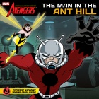 The Avengers: Earth's Mightiest Heroes! Man in the Ant Hill story book cover art