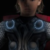 Thor Avengers Muscle Light Up (Detail)