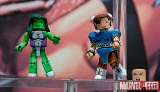 She-Hulk Diamond Select Toys Minimates MVC3