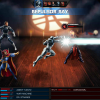 War Machine and Doctor Strange vs. Dormammu screen shot from Marvel: Avengers Alliance