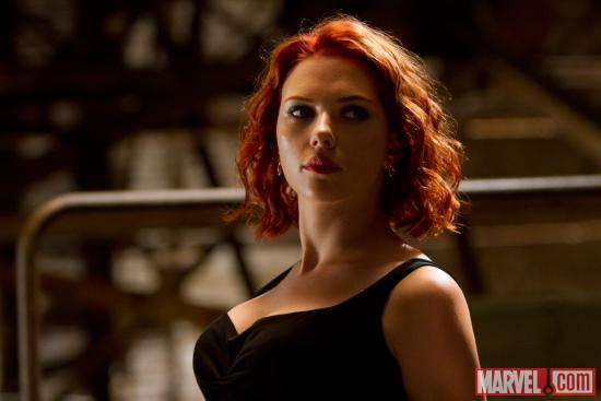 Scarlett Johansson stars as the Black Widow in Marvel's The Avengers