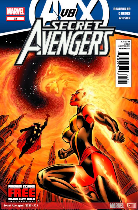 SECRET AVENGERS 28 (AVX, WITH DIGITAL CODE)