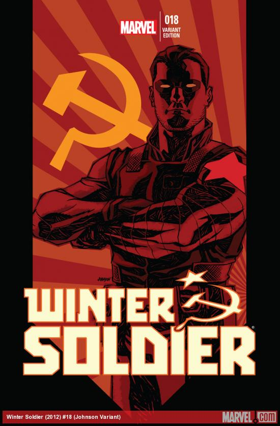 WINTER SOLDIER 18 JOHNSON VARIANT