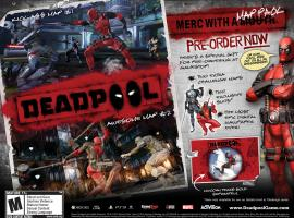 Pre-order Deadpool now to get special exclusive content