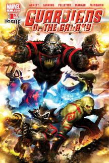 Guardians of the Galaxy (2008) #1