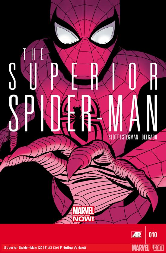 SUPERIOR SPIDER-MAN 3 3RD PRINTING VARIANT (NOW, WITH DIGITAL CODE)