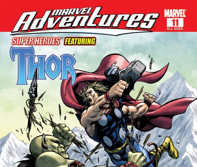 Marvel Adventures Super Heroes #11
