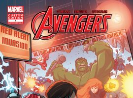 The Avengers in GEARING UP #1 cover
