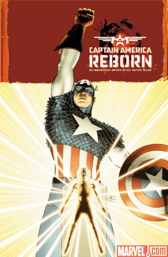 CAPTAIN AMERICA REBORN #1, cover by John Cassaday