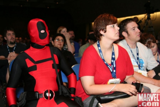 Deadpool at a Panel