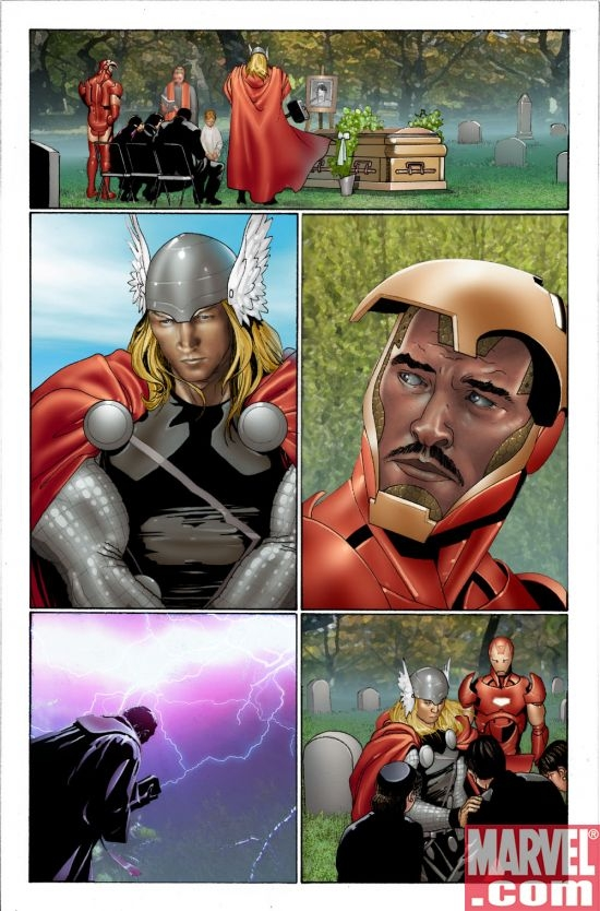 INVINCIBLE IRON MAN #2 Interior Page