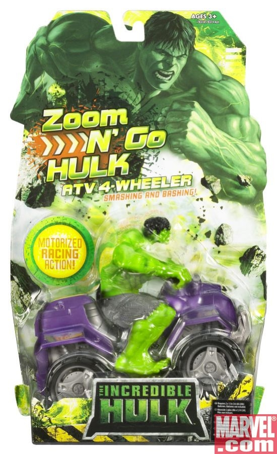 ZOOM N' GO HULK™ ATV 4-Wheeler