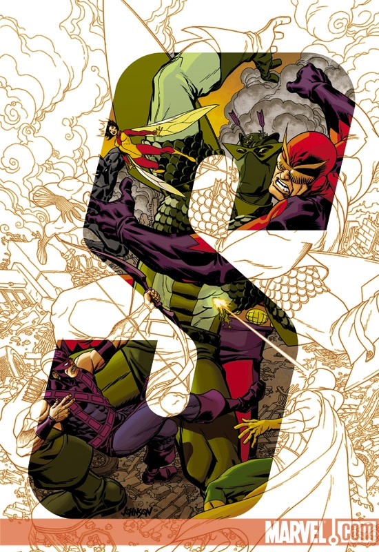 AVENGERS: EARTH'S MIGHTIEST HEROES II #8 COVER