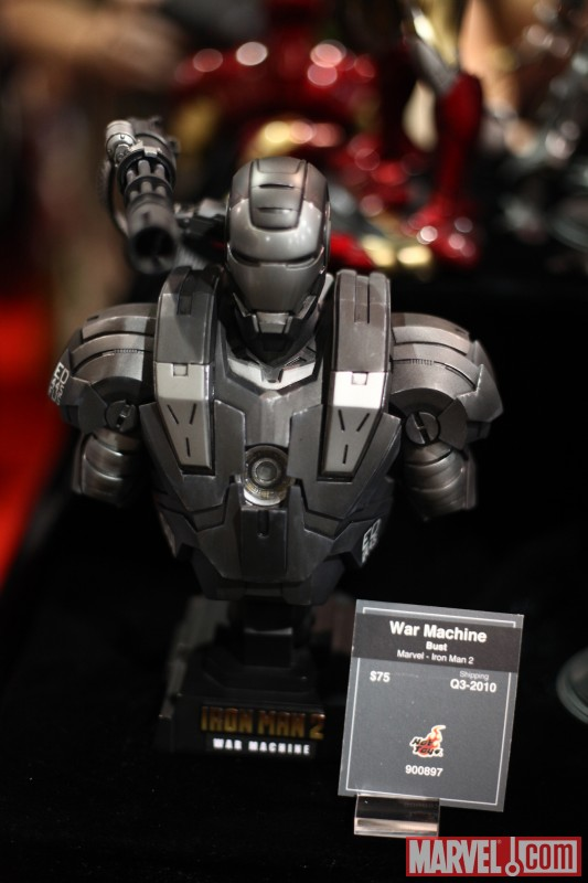 War Machine from Iron Man 2 bust from Sideshow Collectibles